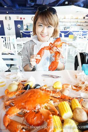 【新加坡美食】Crab in da bag