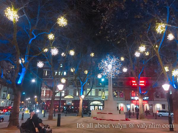伦敦初冬12月份。随写