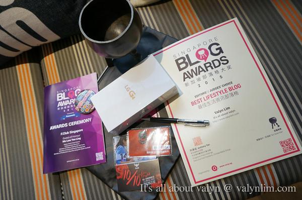 再次荣获新加坡部落格大奖《最佳生活资讯部落格》