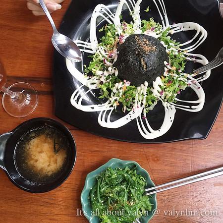 【槟城素食馆】Sushi Kitchen 很好吃~
